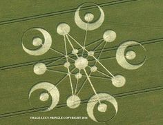 Crop Circles: Patterns of Emerging Consciousness, July 2014 - Ashtar Command - Spiritual Community Network