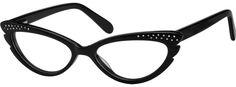 New glasses :o) A cat-eye style, acetate full-rim frame with spring hinge. Cool Glasses, New Glasses, Glasses Online, Cat Eye Glasses, Fake Glasses, Malcolm X, Eyeglasses Frames For Women, Black Cat Eyes, Four Eyes