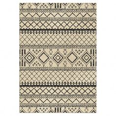 Luxuriously soft and simply patterned, the Threshold Aztec Fleece Area Rug is the perfect statement in a room decor. The fetching design evokes Aztec artwork for a sophisticated and stylish look that will enhance the feeling of any room in your home. Beni Rugs, Flokati Rugs, Wool Thread, Aztec Designs, Textiles, Rug Material, Grey Rugs, My Living Room, Living Area