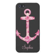 #Anchor iPhone 5 case Pink rose #iphone #case