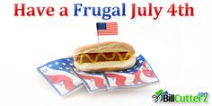A Frugal July 4th - BillCutterz.com Money Saving Blog #save #money #july #4th #indendence #day #holidays