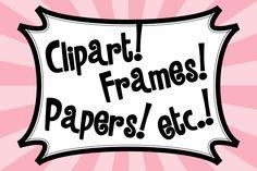http://www.pinterest.com/socstudemporium/clipart-frames-papers/