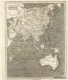 AntiqueMapPortlandOregonCram Maps Of Antiquity West Coast - Antique map reproductions for sale