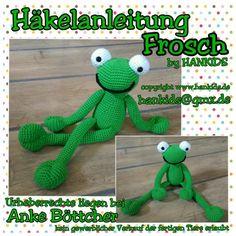 Häkelanleitung Frosch