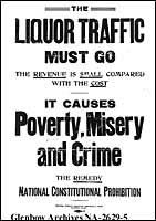 POSTER: Large reproduction of poster expressing support for prohibition. Challenges And Opportunities, Social Change, Constitution, Social Studies, Poster, Bill Of Rights, Sociology, Social Science, Billboard