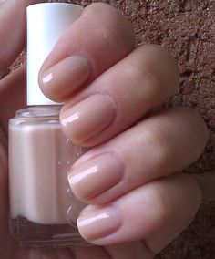 Essie Sandy Beach - Own! Looks great under OPI DS Classic.