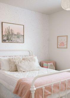 Blake's Room / Bohemian White and Pink Girl's Room