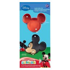 Wilton Mickey Mouse Cookie Cutter Set - image 1 of 3 Mickey 1st Birthdays, Mickey Mouse First Birthday, Disney Mickey Mouse Clubhouse, Mickey Mouse Clubhouse Birthday Party, Mickey Party, Boy Birthday, Birthday Ideas, Minnie Mouse, Mickey Mouse Party Games