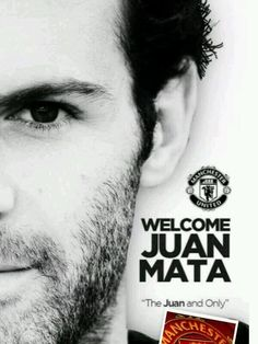 Welcome to Manchester United, Juan Mata.