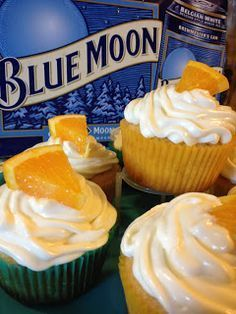 Successfully pulled these off!             Blue Moon Cupcakes | The Blonde Can Cook