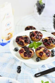 Blueberry Hazelnut Friands