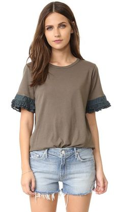 Clu Top with Silk Pleating