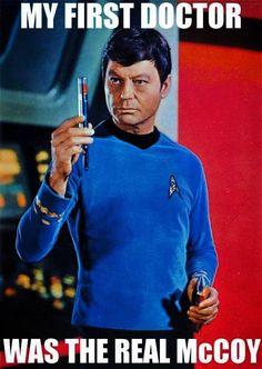 He was my favorite Doctor too - Star Trek