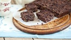 Ginger chocolate oat bar - the best ever you have to make it!