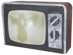 Haunted TV for #Halloween. Looks just like an old time TV. When activated, screen flashes and corresponding sounds set an eerie scene. Measures 9 inches x 12 inches x 4.5 inches.