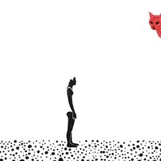 Min Liu (Taiwanese, b. Taiwan, based Brooklyn, NYC, USA) - GIF from Bloody Dairy: A Daily Animation Project  GIF