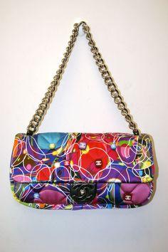 PRADA LNC black nylon Tessuto Catena chain strap purse | Nylons ...