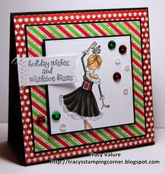Tracy's Stamping Corner: Holiday Wishes....