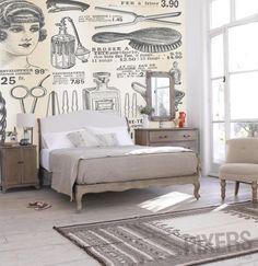 Gatsby Boudoir wallpaper. C.C. Sic Viresco 3hreebees