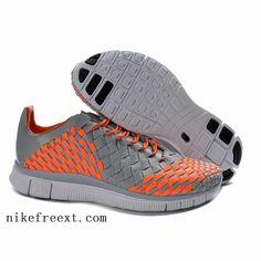 low-nike-free-trainer-5.0-men-woven-shoes-2013-gray-orange-discount-shop-nike-free-run-3-junior-running-shoes.jpg (697×697)