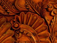 Mexican hand carved wood