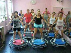 Jump Show Avançado - Professora: Patricia Barroso - YouTube Trampolines, Trampoline Workout, Barre Workout, Famous Last Words, Rebounding, Academia, Yoga Poses, Pilates, Youtube