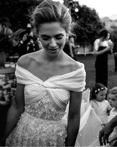 FOR THE DRESS || Off the shoulder embellished gown || NOVELA BRIDE...where the modern romantics play & plan the most stylish weddings... www.novelabride.com @novelabride #jointheclique