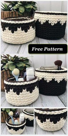 And Unique Crochet Free Patterns - Diy Rustics Stylish bathroom crochet basket free pattern Latest And Unique Crochet Free Patterns - Diy Rustics Stylish bathroom crochet basket free pattern Crochet Home, Crochet Crafts, Crochet Projects, Yarn Crafts, Diy Crafts, Crochet Clutch Pattern, Crochet Basket Pattern, Crochet Baskets, Crochet Bags