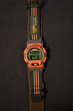 41f9ac86707 Vintage Casio G-shock DW-003R-4T Nexax Tough Label  GShock Casio