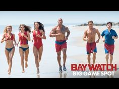 BAYWATCH (2017) - Big Game Spot - Dwayne Johnson and Zac Efron - In Theaters May 26, 2017  | Paramount Pictures