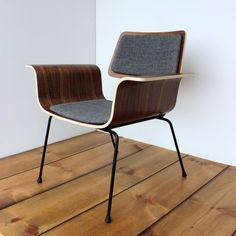 Roxy Walnut armchair