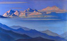 Nicholas Roerich, Kanchenjunga, 1944
