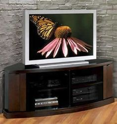 Concerto Corner TV Console  The Concerto by JSP is the perfect space saving solution for todays lifestyle.