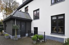 Belgian Style, House Goals, Curb Appeal, Future House, Building A House, Sweet Home, New Homes, Facade, Home And Garden