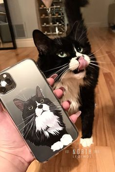 Get YOUR pet hand-drawn & UV printed on a transparent OR colored Eco-friendly phone case now. Animal Phone Cases, Cat Gifts, Pet Portraits, Hand Drawn, Your Pet, Cat Lovers, How To Draw Hands, Pets, Animals
