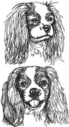 Advanced Embroidery Designs - Cavalier King Charles Spaniel Set