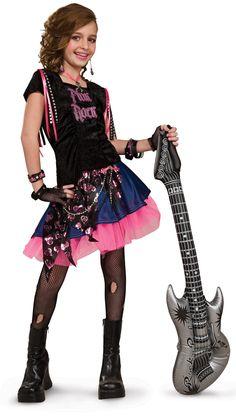 Pink Rock Girl Costume Halloween Kids Costumes Medium Ages Rubies NEW Rocker Costume, Pink Costume, Costume Shop, Costume Dress, Halloween Costumes For Girls, Cool Halloween Costumes, Girl Costumes, Kid Halloween, Costumes Kids