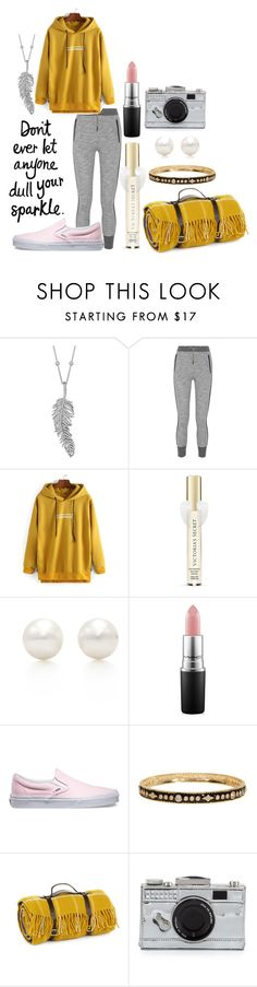 """Sparkle"" by snowflakeshinon ❤ liked on Polyvore featuring Penny Preville, rag & bone, Victoria's Secret, Tiffany & Co., MAC Cosmetics, Vans, Freida Rothman, Tweedmill, Kate Spade and women's clothing"