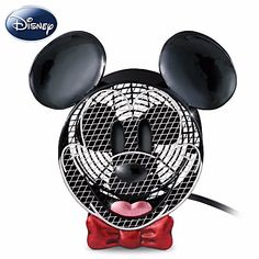 In Mickey Mouse blew into town and things have never been the same since! Now, celebrate the anniversary of Mickey Mouse with the Disney Mickey Mouse Fan Electric Fan, available from .