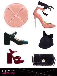 #AlertaTendencia #FashionNews el #terciopelo se convierte en la nueva tendencia para accesorios este otoño. Fotos:@Vogue