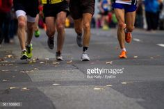 Stock Photo : Low Section Of People Running On Street In Marathon People Running, High Resolution Photos, Marathon, Stock Photos, Street, Sports, Hs Sports, Marathons, Sport