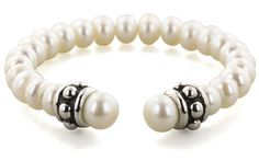 Honora Girls Collection Pearl Bracelet and Sterling Silver End Caps - Honora Pearl Jewelry for Kids