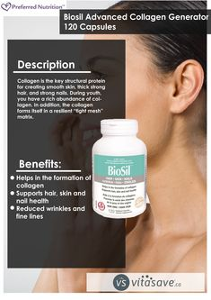 Nutrition Biosil helps in the formation of collagen. Strong Nails, Smooth Skin, Beauty Care, Pet Care, Natural Health, Collagen, Nutrition, Personal Care, Soft Leather