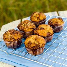 Mine Oppskrifter: Marmorerte Appelsin og Sjokolade Cupcakes