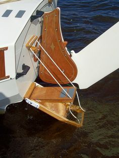 100_1951 | The nifty swim ladder on the stern of GIZMO | Bill | Flickr
