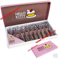 HELLO KITTY Stainless Steel Fork Spoon Gift Sanrio B49 | eBay@Kaitlyn Hector........