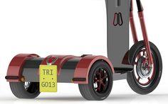 Tri-Go Scooter by Tobias Windsor-Wayland
