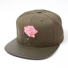 Fuchsia Hi Starter Snapback Cap (Green). #snapbacks #hats