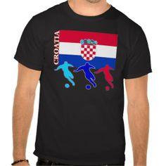 Shop Soccer Croatia T-Shirt created by nitsupak. Soccer Gifts, Tshirt Colors, Croatia, Fitness Models, Football, Unisex, Tees, Amazing, Casual