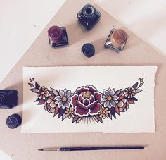 24 Ideas For Tattoo Traditional Sternum Chest Piece - Tattoo minimaliste geometric, Tattoo minimaliste meaning Tattoo minimaliste symbole linear, Tattoo minimaliste ,Tattoo minimaliste flower Kunst Tattoos, Neue Tattoos, Body Art Tattoos, Sleeve Tattoos, Dream Tattoos, Future Tattoos, Trendy Tattoos, Cool Tattoos, American Traditional